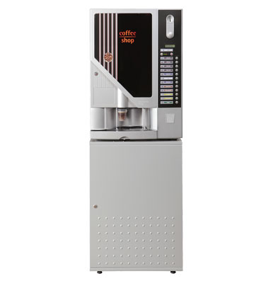 Machine XXL Silver Cafe sur meuble